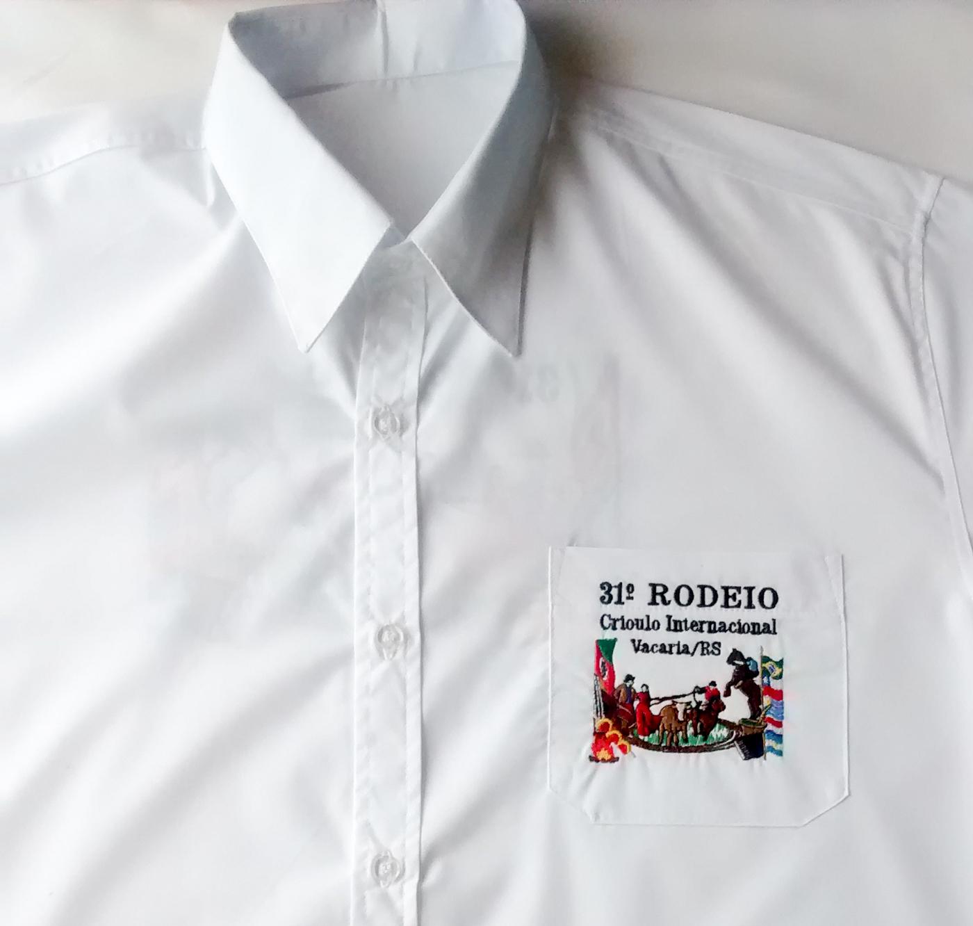 518ec60ad7234 Camisa Social Rodeio de Vacaria Manga Curta - Malharia Nice