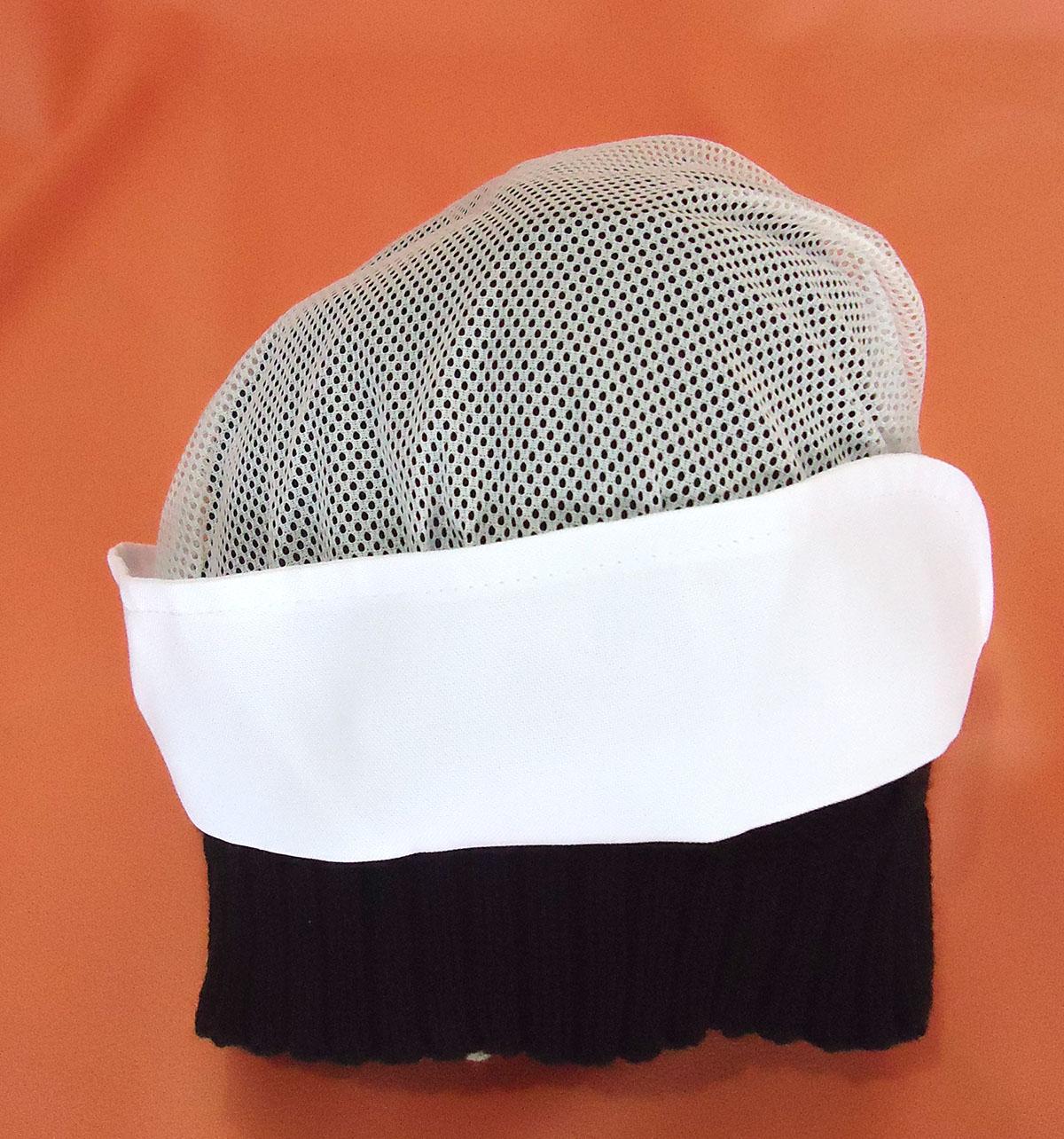 Touca Branca Regulável - Malharia Nice 704fd37371b
